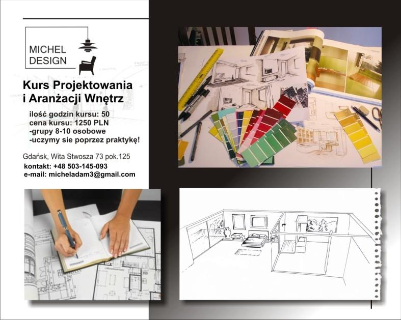 kurs projektowania wnetrz Gdansk